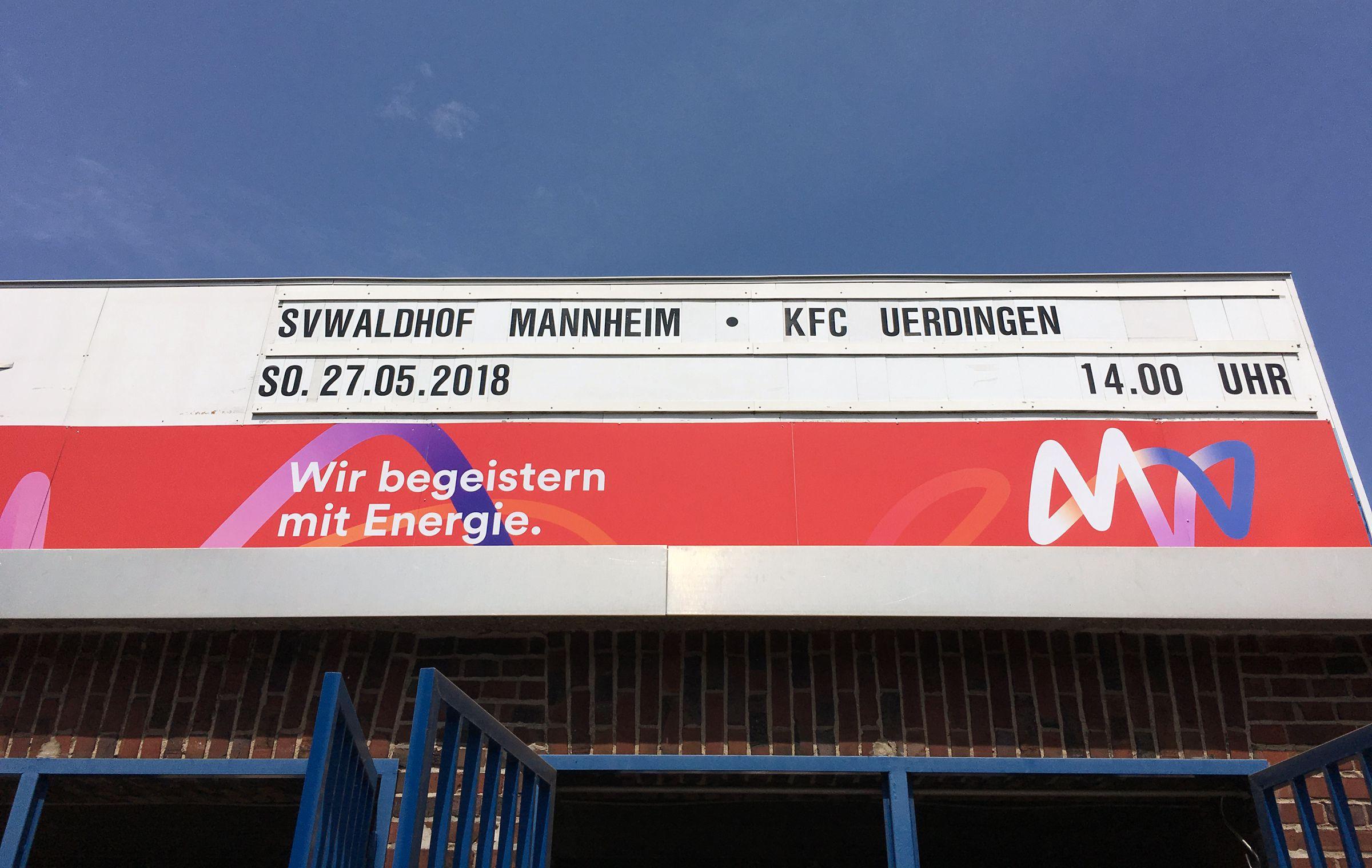 Waldhof vs Uerdingen