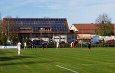 Sportanlage mit Solarzellen…